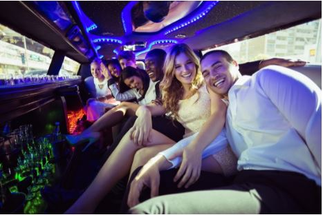 Prom night party bus in Green Bay, WI